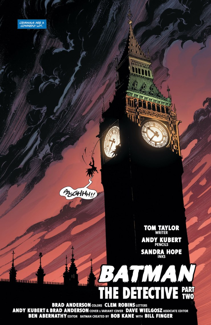 DC Preview: Batman: The Detective #2