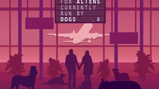 'An Airport for Aliens Currently Run by Dogs' is an intimate reflection of its creator