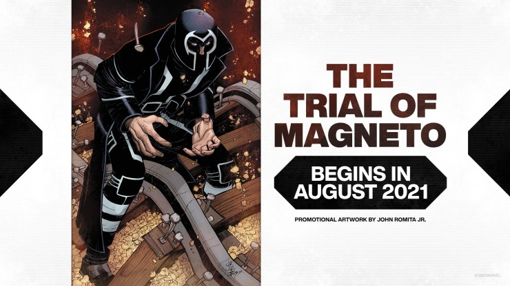 X-Men Monday #105 - Jordan D. White Talks X-Pets, the New X-Men, 'The Trial of Magneto' and More