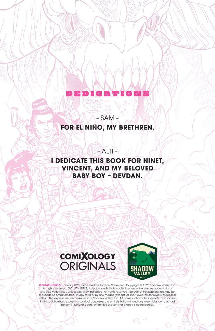ComiXology Originals Preview: Goliath Girls Vol. 1
