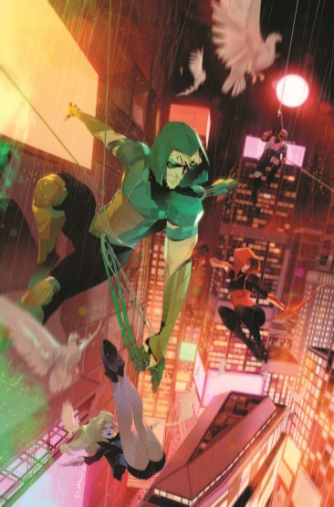 Green ARrow 80th Anniversary 2010s Variant cover by Simone Di Meo