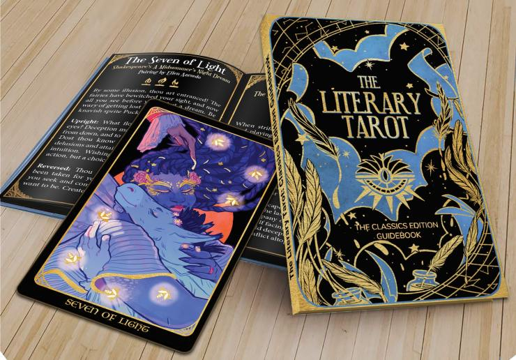 Dani Hedlund Literacy Tarot Kickstarter Bink Literacy Project