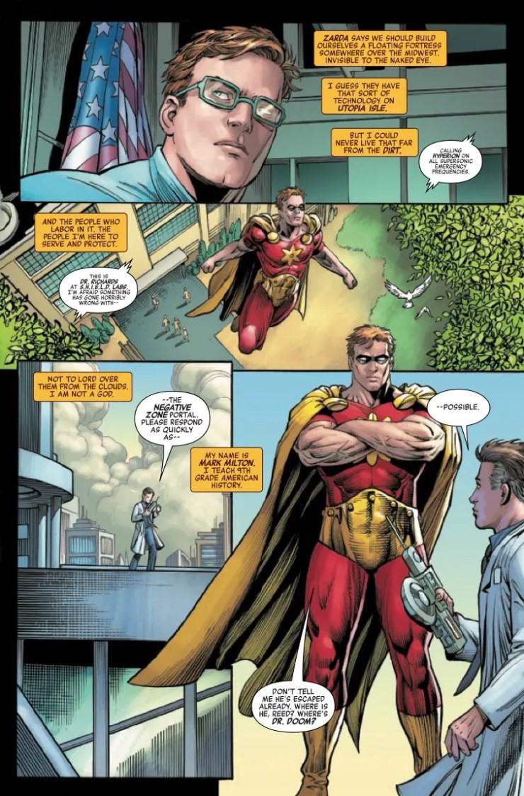 Marvel Preview: Heroes Reborn #2