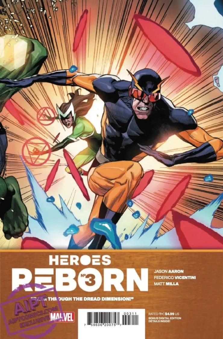 EXCLUSIVE Marvel Preview: Heroes Reborn #3