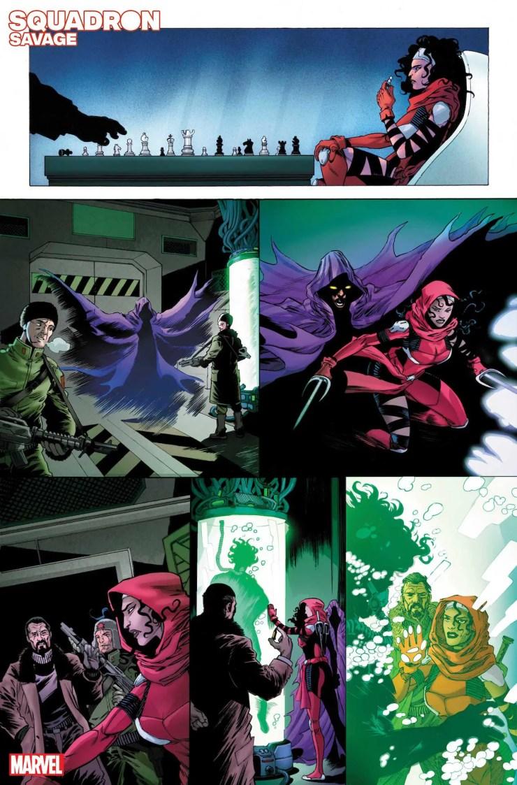 Marvel First Look: Heroes Reborn: Squadron Savage #1
