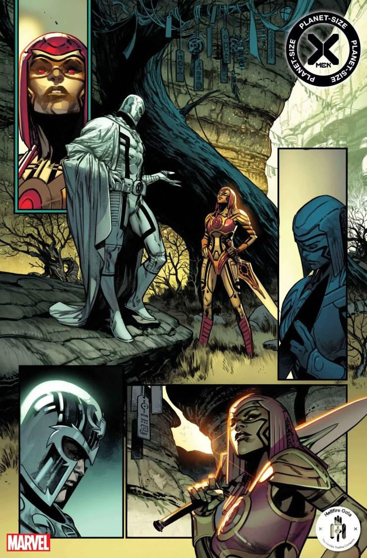 Marvel reveals Omega-Level mutant variant covers for 'Planet-Size X-Men'