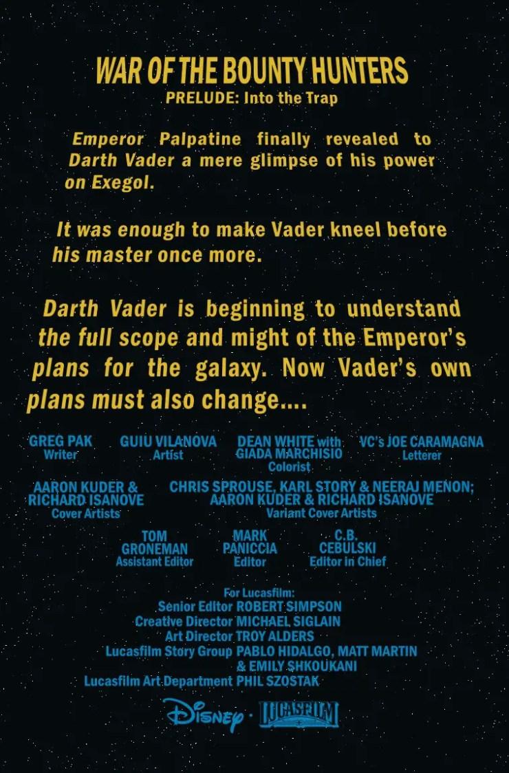 Marvel Preview: Star Wars: Darth Vader #12