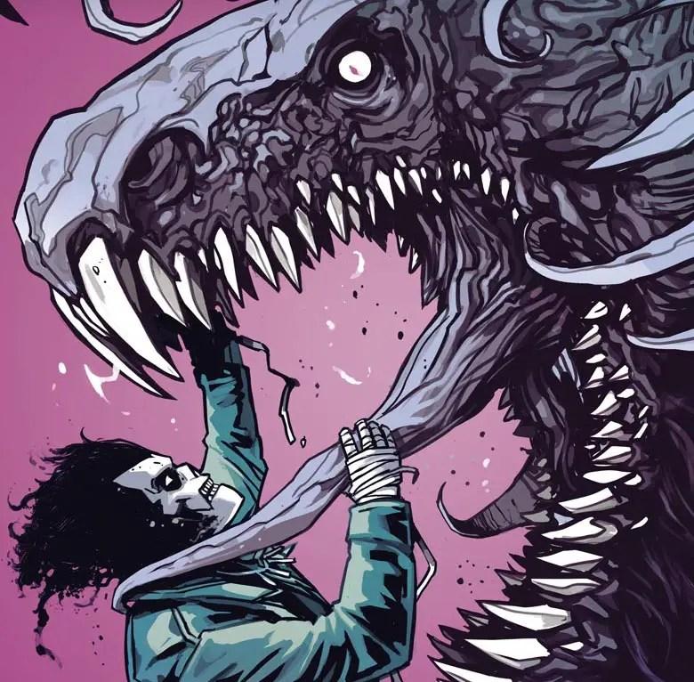 'Shadowman' #2 blends horror and superhero antics well