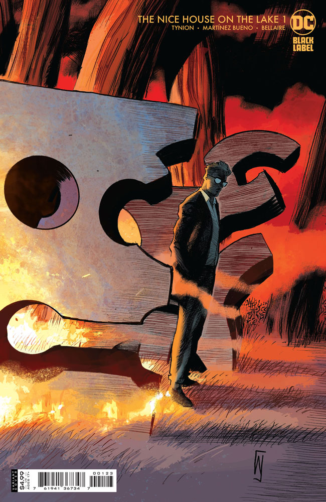 DC Preview: The Nice House on the Lake #1