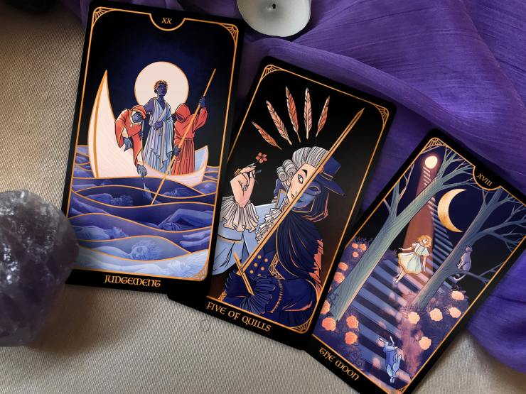 Dani Hedlund discusses the past, present, and future of The Literary Tarot