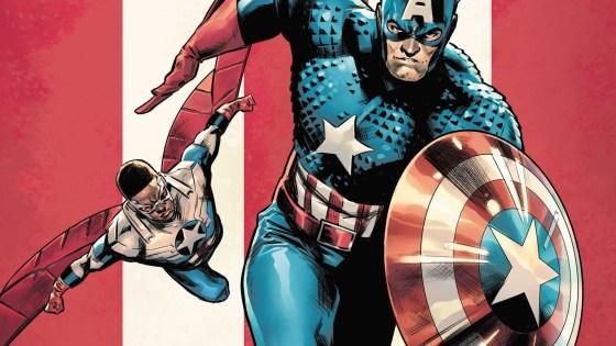 Marvel reveals Carmen Carnero's 'The United States of Captain America' #1 cover