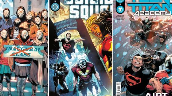 Crossing over: Tim Sheridan and Robbie Thompson on their 'Suicide Squad' and 'Teen Titans Academy' collab
