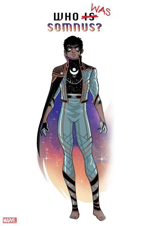 Marvel Comics teases new superhero Somnus