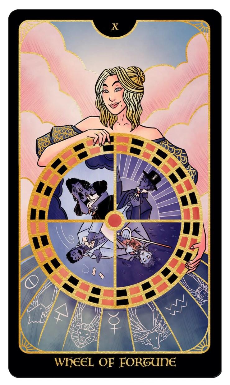 Literary Tarot Willow Wilson Wheel of Fortune