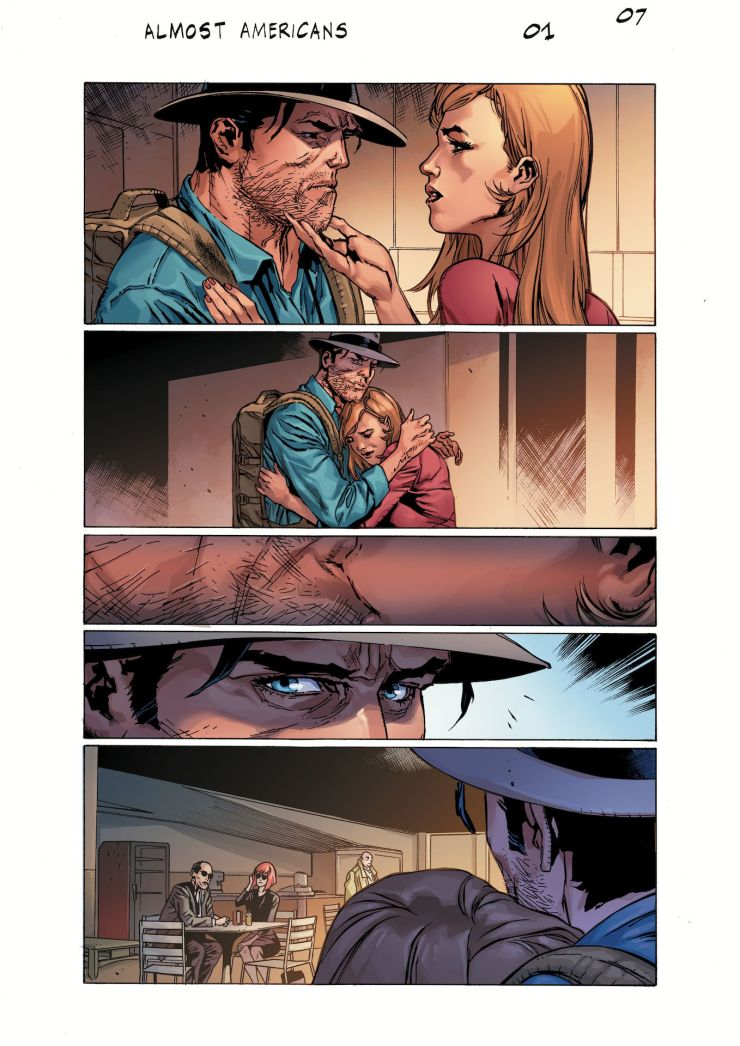 AfterShock First Look: Almost American #1