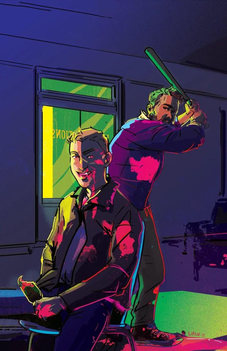 Black's Myth EXCLUSIVE AHOY Comics October 2021 solicitations