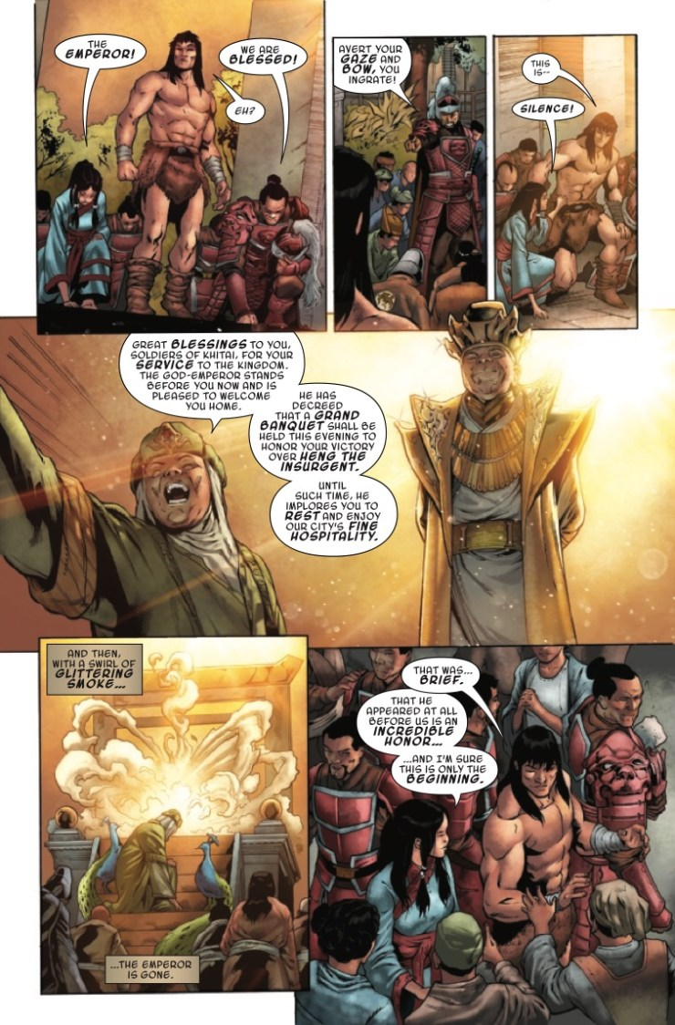 Marvel Preview: Conan The Barbarian #22