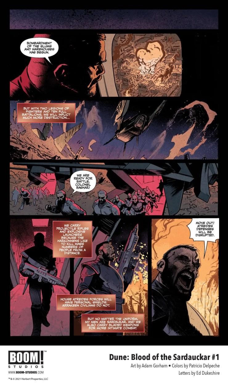 BOOM! Preview: Dune: Blood o the Sardaukar #1