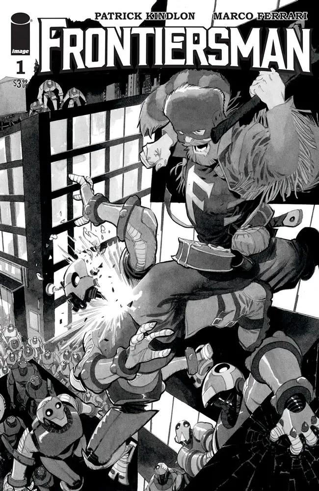 Image launching new superhero adventure 'Frontiersman'