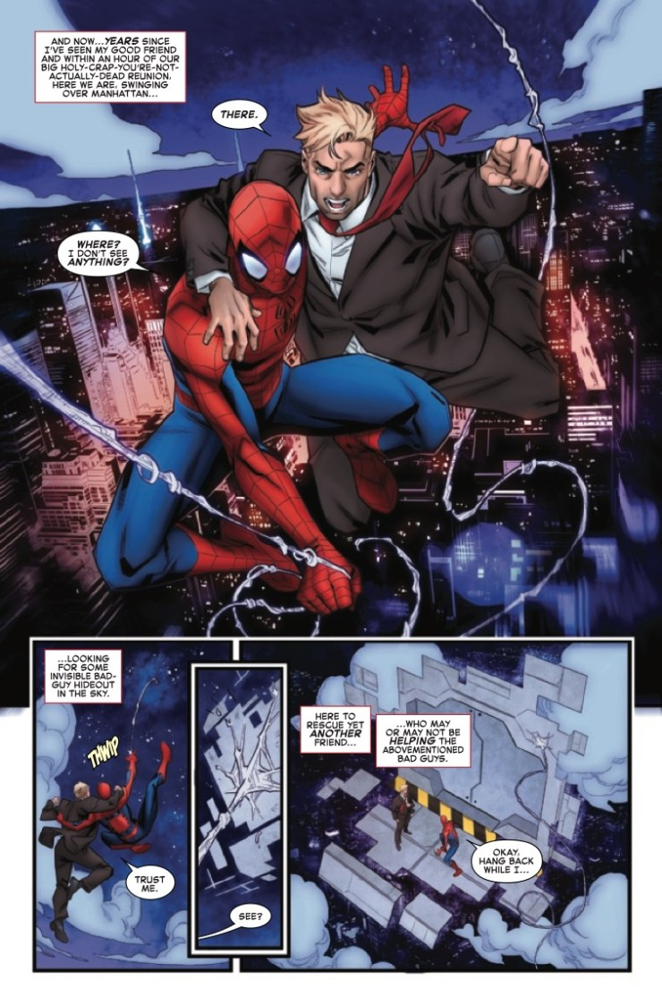 Marvel Preview: Giant-Size Amazing Spider-Man: Chameleon Conspiracy #1