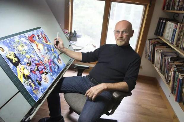 Jim Starlin makes comics for a strange, mad world