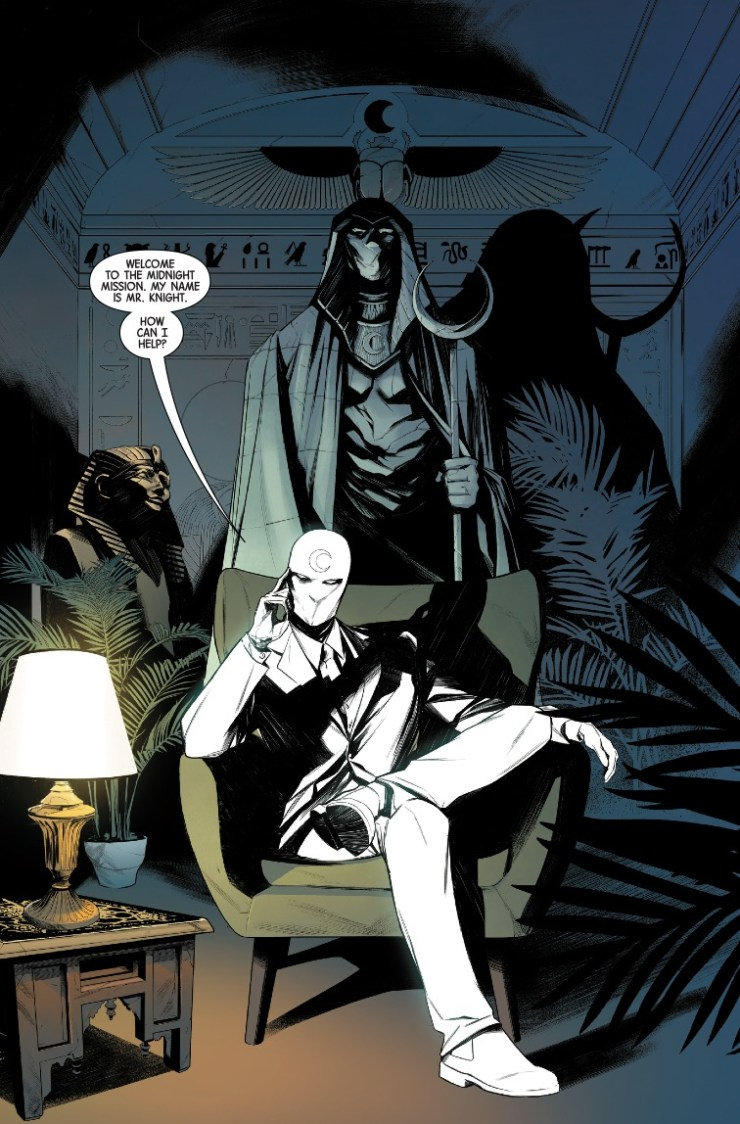 Marvel First Look: Moon Knight #1