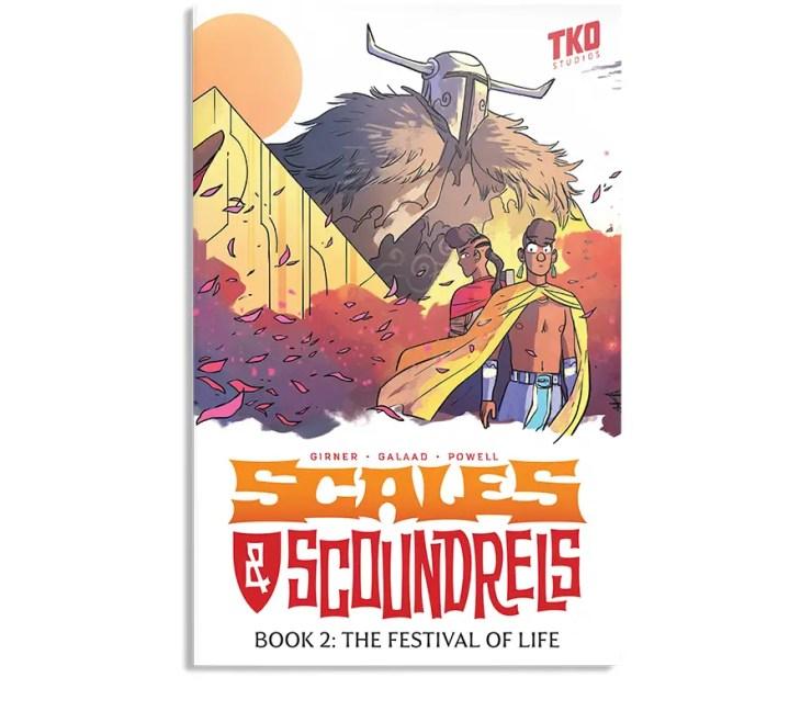 TKO Studios launches 'Scales & Scoundrels' Vol.s 1 & 2