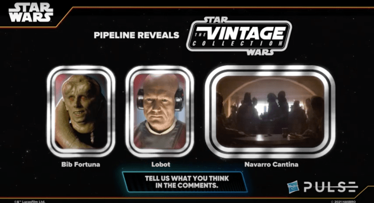 Vintage Collection Pipeline Reveals