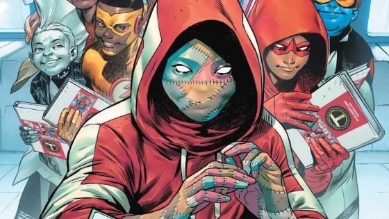 'Teen Titans Academy 2021 Yearbook' #1 has tons of heart