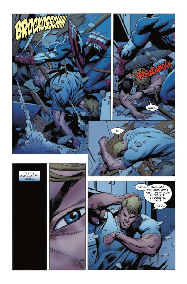 'The United States of Captain America' #1 review: A question of potential and American Dreams