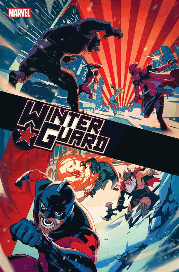 Marvel Solicitations Winter Guard
