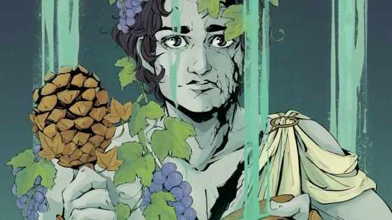 Comics Alert: Madness; or, the Modern Dionysus OGN coming soon