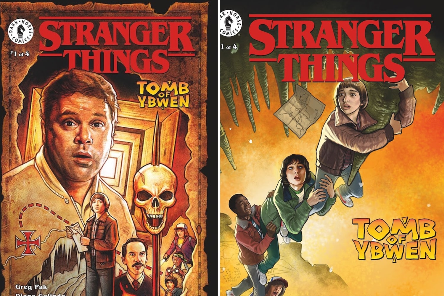 'Stranger Things: The Tomb of Ybwen' #1 is the start to a great eerie story