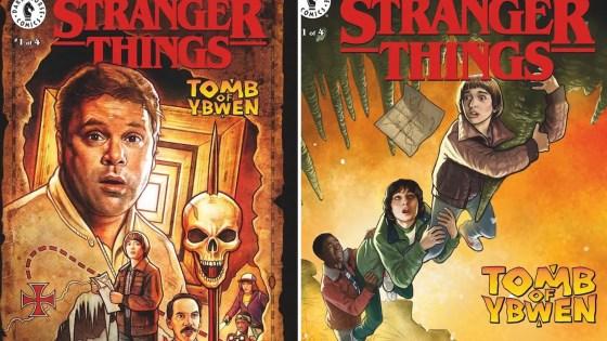 Dark Horse sets 'Stranger Things: Tomb of Ybwen' for September 29th