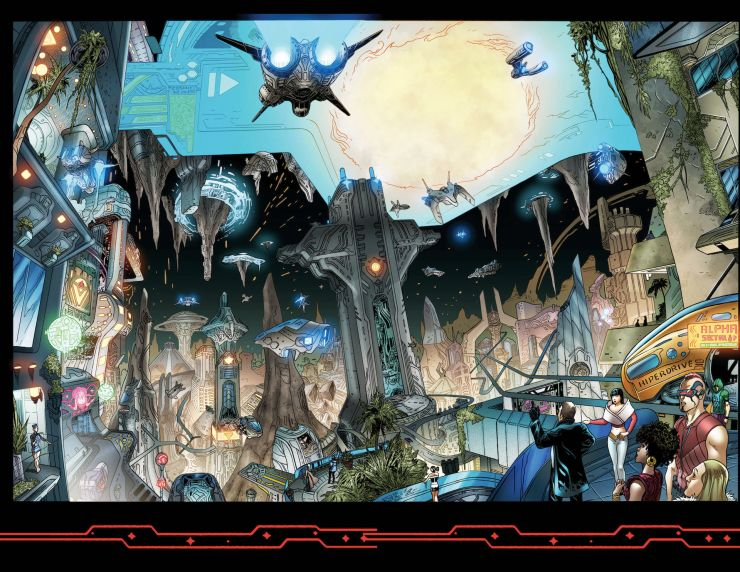 EXCLUSIVE Heavy Metal Preview: Dark Wing: Unstable Elements