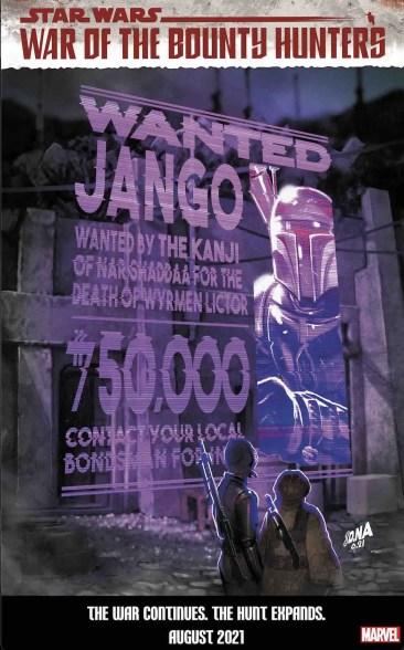 Marvel celebrates 'Star Wars: War of the Bounty Hunters' with David Nakayama wanted covers