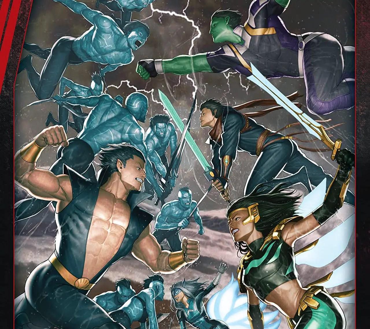 'Atlantis Attacks' is good team comics