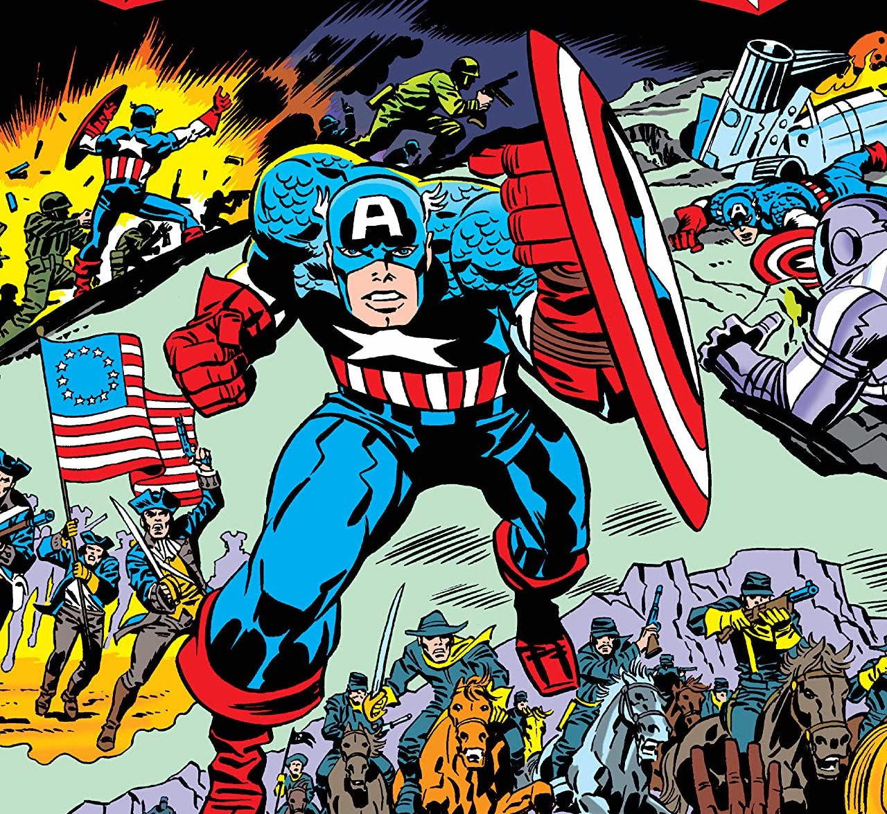 Celebrate the Fourth of July with 'Captain America's Bicentennial Battles Treasury Edition'