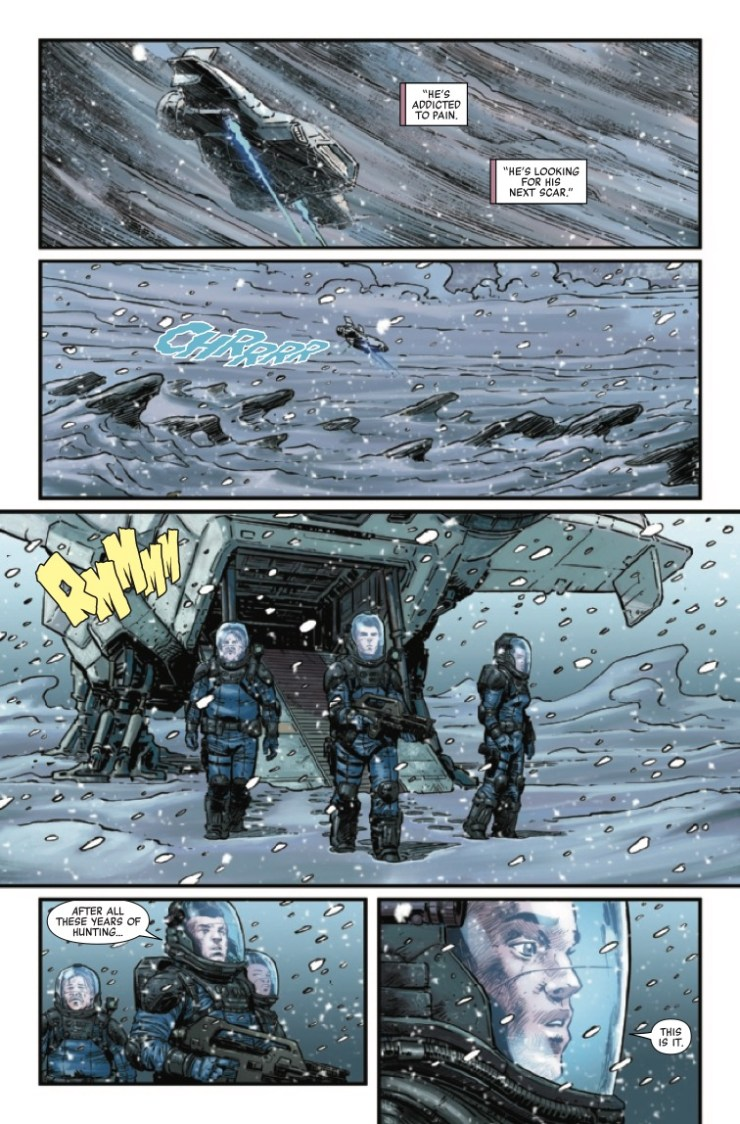 Marvel Preview: Aliens: Aftermath #1