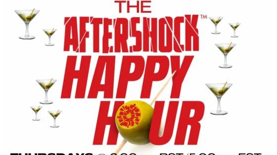 AfterShock launching bi-weekly live streaming series 'The AfterShock Happy Hour'