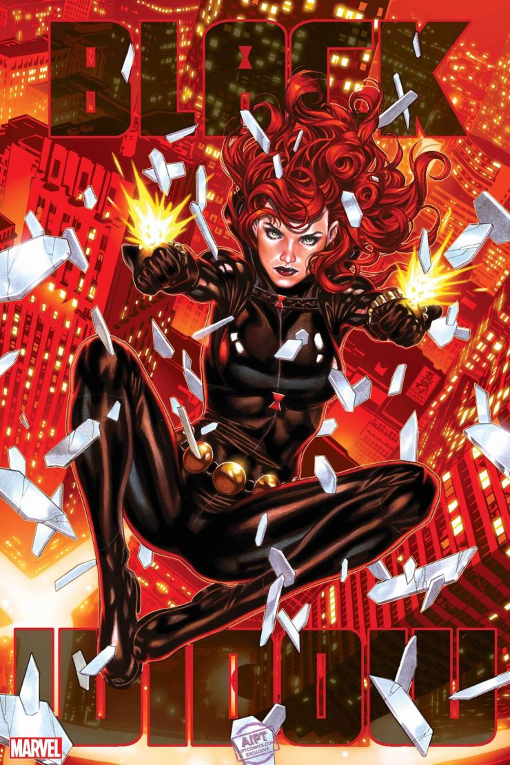 EXCLUSIVE Marvel First Look: Mark Brooks' 'Black Widow' #10 cover