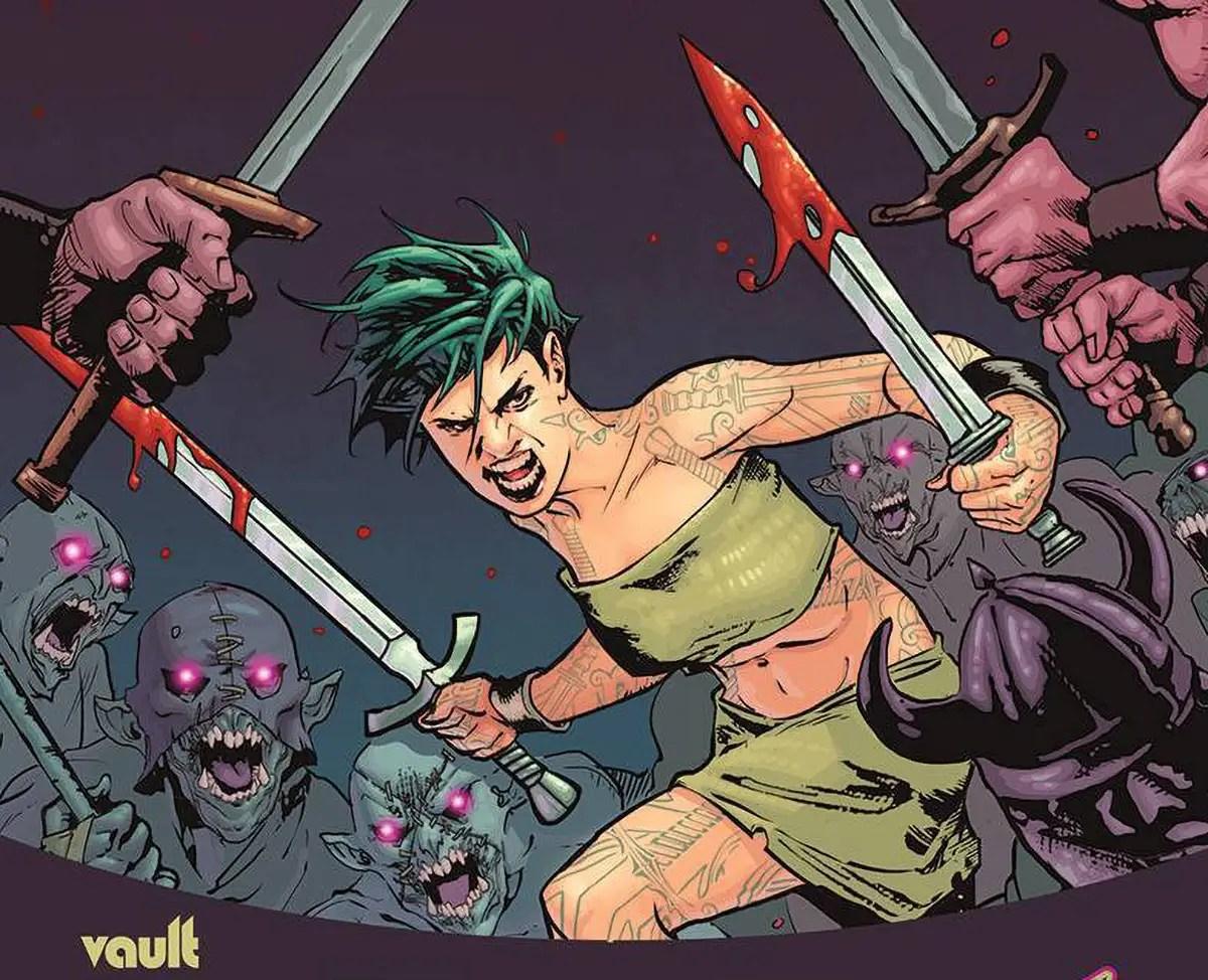 'Barbaric' #2 wakes the dead