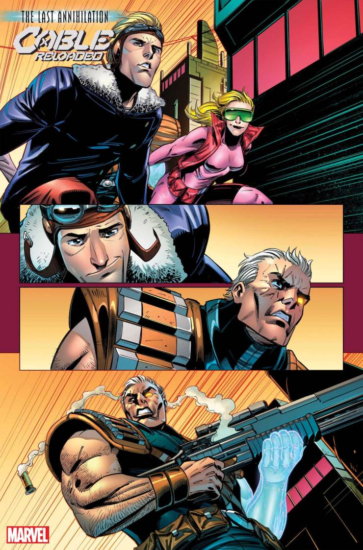 Marvel First Look: Cable: Reloaded #1