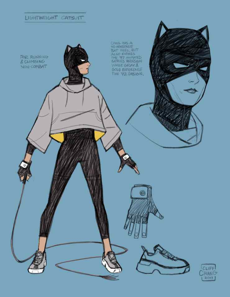 DC Comics First Look: Catwoman: Lonely City #1