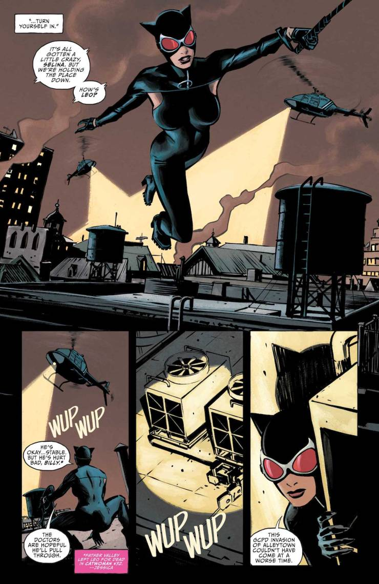 DC Preview: Catwoman #33