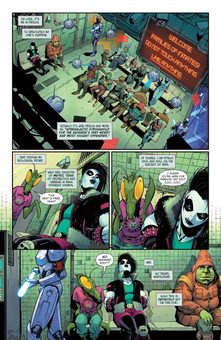 DC Preview: Crush & Lobo #3