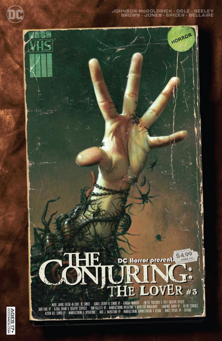 DC Preview: DC Horror Presents: The Conjuring: The Lover #3