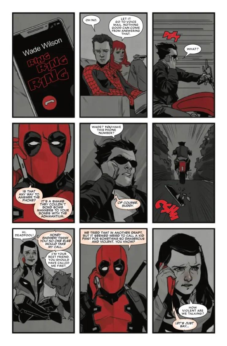 Marvel Preview: Deadpool: Black, White & Blood #1