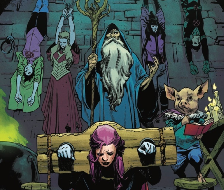 'Excalibur' #22 brings in an unexpected twist