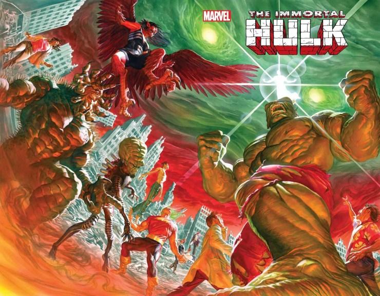 Marvel marks October 13th for 'Immoral Hulk' finale